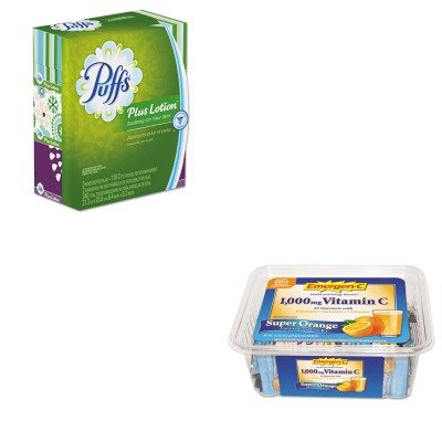 KITALA130279PAG82086 - Value Kit - Procter Gamble Professional Plus Lotion Facial Tissue (PAG82086) and Emergen-C Immune Defense Drink Mix (ALA130279)