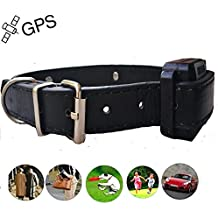 KKBEAR GPS Tracker Locator for Kids Pets Dogs Vehicles Cars Motorcycles Remote Monitor Anti-Lost Elderly Dementia/Alzheimers Care with Google Maps Active Tracking with 10 Days