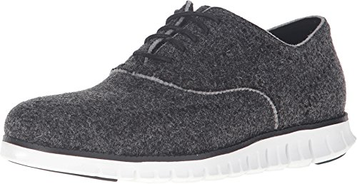 Cole Haan Men's Zerogrand Short Wing - Wool Closed Black Wool/Optic White Sneaker 8 D (M) by Cole Haan