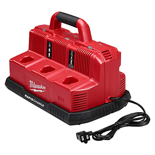 Milwaukee 48-59-1807 M18 & M12 Rapid Charge Station (Milwaukee Battery Charger)