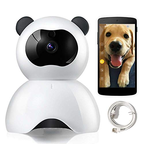 LEMFO Pet Camera, IP Camera for Dog Cat, Baby Monitor, 1080P Full HD Pet Cameras That Connect with iPhone Android WiFi Home Camera with Two Way Audio, Night Vision, Motion Detection Alert