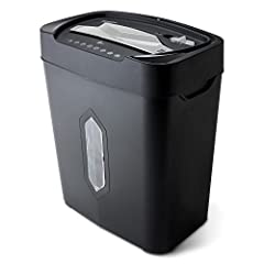 The Aurora AU1230XA 12-Sheet crosscut paper/ credit card shredder with 5.2-Gallon wastebasket is the perfect business and home office device to keep you safe from identity theft. The AU1230XA accepts up to 12 sheets of paper at a time and shr...