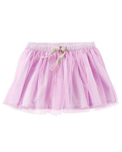 OshKosh B'Gosh Girls' Skirts (12-18 Months, Purple/Double Layer Tutu) -