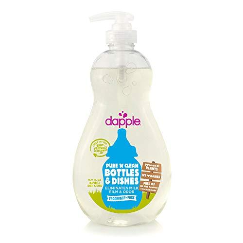 Dapple Baby Bottle & Dish Liquid 16.9 Oz (Pack of 2)