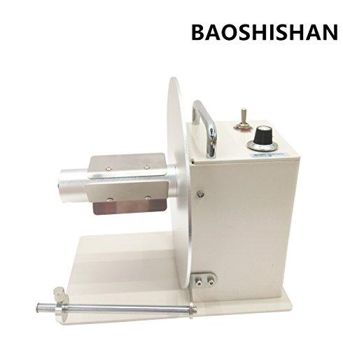 AL-938 Automatic Label Rewinder Rewinding Machine Speed Adjustment (220V) by BAOSHISHAN