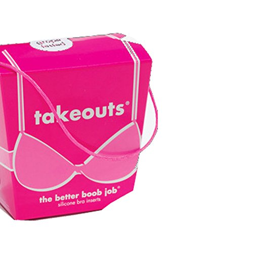 Commando Women's Takeouts - The Better Boob Job, Clear, One Size