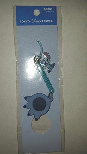 東京 ディズニー リゾート 限定 リロ アンド スティッチ 携帯 電話 クリーナー ストラップ 正規品Tokyo Disney Resort Lilo & Stitchの商品画像
