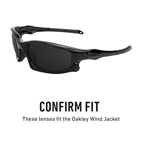 — Repuesto Oscuro Lentes Marrón Múltiples Jacket Elite Opciones Wind Polarizados De Para Oakley 7w5AYw