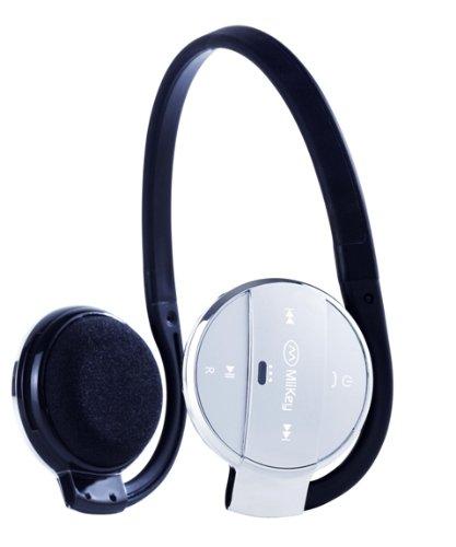 MiiKey MiiSport Grey Wireless Bluetooth 4.0  Headphone with Microphone