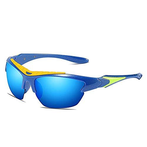 polarisées ZhongYi air Soleil Sandy de Plein colorées Lunettes de Sports Soleil de E Lunettes CqEqr0wxpt