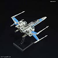The Last Jedi X Wing Fighter RESISTANCE BLUE Company Specifications Plastic Model Bandai Vehicle Model 011 Star Wars