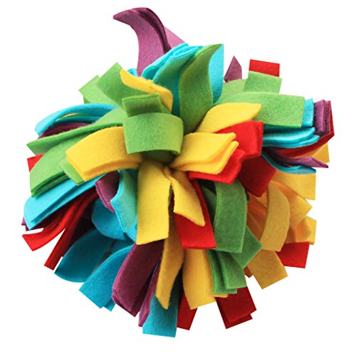 IFOYO Cloth Dog Toy, Soft Dog Toy for Cat and Dog Tough Dog Toy for Medium Small Dogs Interactive Dog Toy for Boredom, B