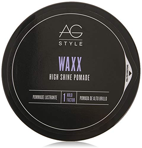 AG Hair Style Waxx High Shine Pomade, 2.5 Fl Oz