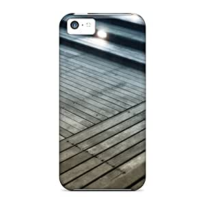 Durable Protector Case Cover With Wood Flooring Hot Design For iPhone 6 plus 5.5