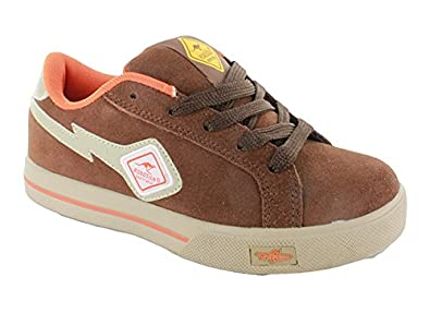 low priced 31366 8e2b1 ROADSIGN Sneaker Gr. 33 braun orange Skaterschuhe Jungen ...
