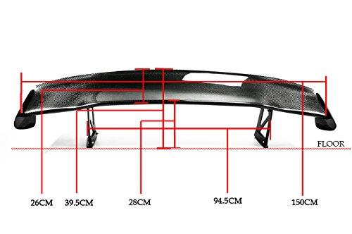 Carbon Fiber For HONDA S2000 SP-N Rear GT Spoiler Wing