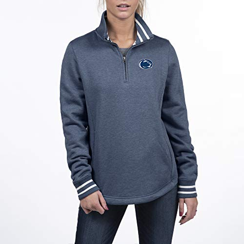 Top of the World Penn State Nittany Lions Women's Triblend Pullover Icon, Navy, X Large