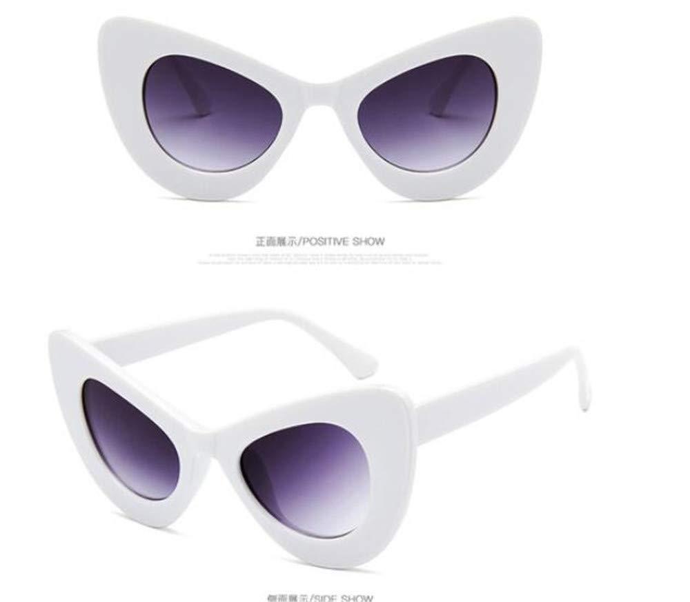 KOMNY Gafas de Sol de Ojo de Gato Vintage Gafas de Sol de ...