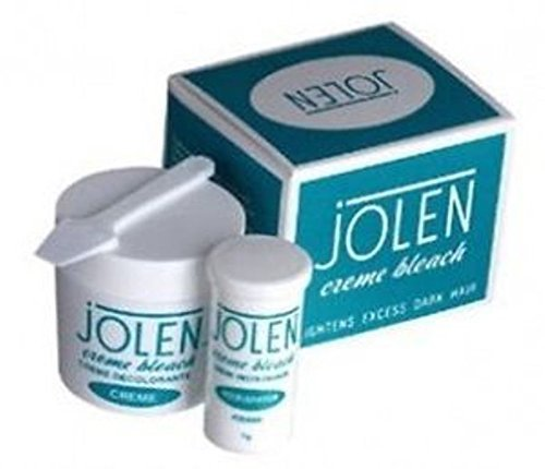 Jolen Creme Bleach Lightens Dark Facial Hair Cream - 9gm by Jolen