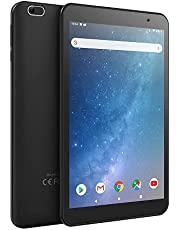 Android Tablet 7 inch, Android 9.0, 2GB RAM, 32GB Storage, Quad-Core Processor, IPS HD Display, 5MP Rear Camera, Bluetooth, GPS, FM, OTG, Wi-Fi Only, Black