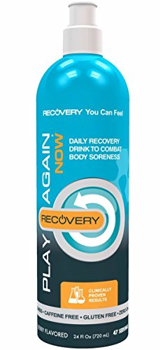 Play Again Now Hyaluronic Acid & MSM Daily Recovery Drink Supplement, 24 Ounce