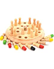Wooden Baby Wooden Toys Memory Chess For Children Kids