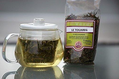 SABOREATE Y CAFE THE FLAVOUR SHOP Te Verde Moruno Le Touareg Gunpowder En Hoja Hebra A Granel Infusion Natural Adelgazante100 gr
