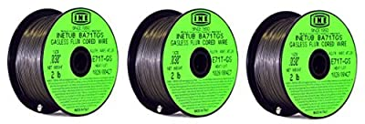 INETUB BA71TGS .030-Inch on 2-Pound Spool Carbon Steel Gasless Flux Cored Welding Wire