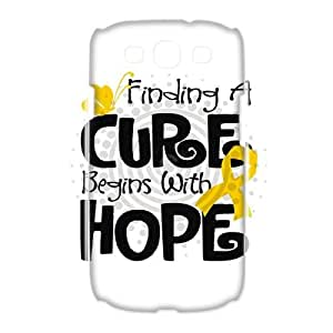 DDOUGS I childhood cancer Best Cell Phone Case for Samsung Galaxy S3 I9300, Custom Samsung Galaxy S3 I9300 Case