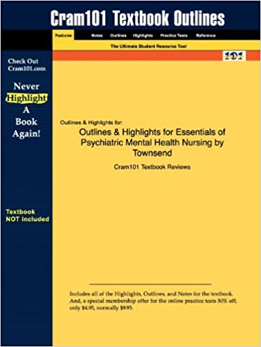 Outlines Highlights For Essentials Of Psychiatric Mental Health