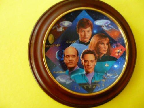 "Star Trek 30th Anniversary Collector's Plate ""Starfleet Doctors"""