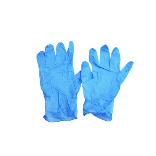 ニトリル NEO 使い捨て手袋(ニトリルゴム製) Mサイズ 100枚入り ブルー B00H31B0GC  Medium