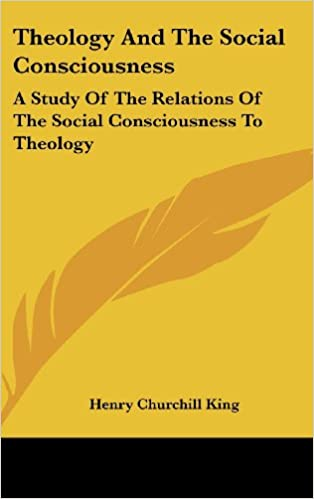 Theology And The Social Consciousness: A Study Of The