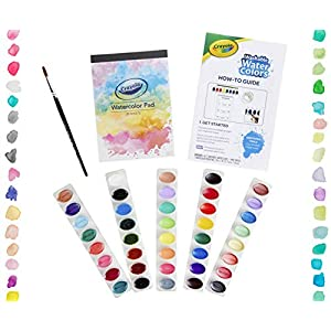 Crayola Deluxe Watercolor Kit, Paint Set, Gift, Over 60 Pieces