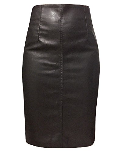 Length Black Leather - 5