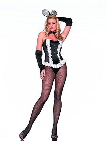 Adult Women's 3 Piece Playboy Bunny Hugh Hefner's