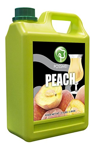 Possmei Flavored Syrup Peach Pound product image