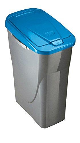 Mondex Müllsortierer 25 Liter mit Blauem Deckel PLS8086-83