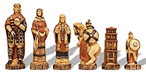 Battle of Hastings Hand Decorated Theme Chess Set