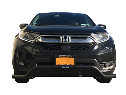 VANGUARD Off Road VGUBG-1772-1773BK For Honda CRV 2017-2019 Bumper Guard Black Elegant Low Bull Bar