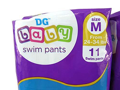 Baby Swim Pants Medium 24-34 Lbs (2 Packs)