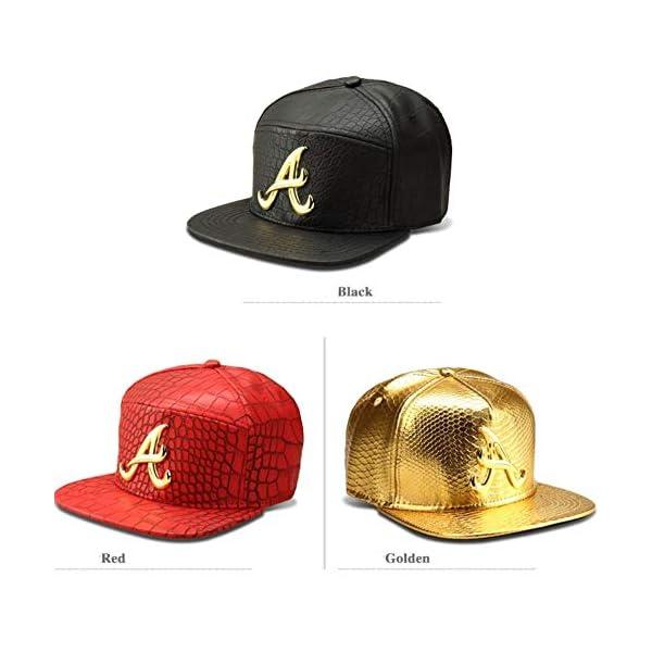 MADY 18K Gold Plated VIP/A/Dollar Grain Baseball Cap Men Women Adjustable Strapback 6