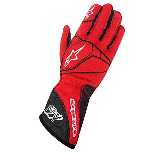 Zx Leather Glove (Alpinestars 3550315-312-S Tech 1-ZX Gloves)