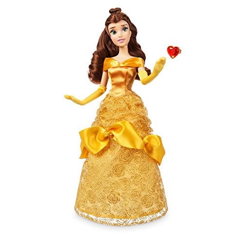 Disney Store Belle Classic Doll with Ring - Beauty and the Beast - 11 1/2'' 2018 Version -