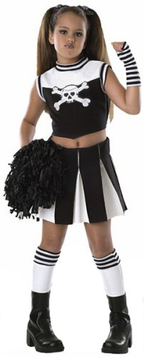 Childs Bad Spirit Cheerleader Costume - Medium