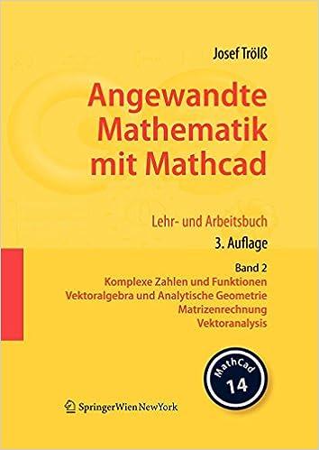 Buy Angewandte Mathematik Mit Mathcad Book Online at Low Prices in ...