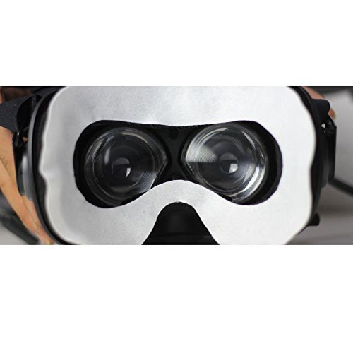 T&B Disposable Oculus Rift CV1 VR Mask 2 Ways To Use Hygiene White Replaceable Blinder Replacement Accessories for Oculus Rift Virtual Reality Headset 50 Pc by T&B (Image #3)