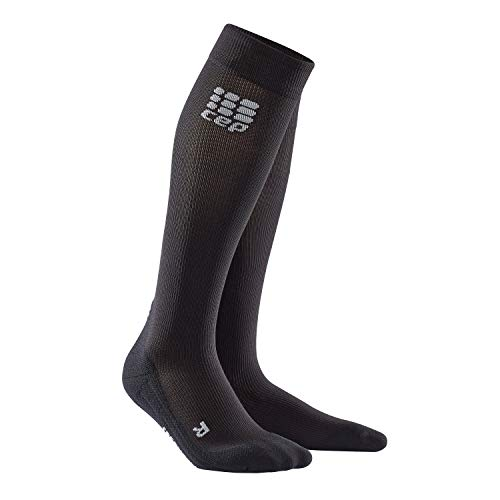 CEP Men's Recovery+ Socks for Recovery, Size 3, Black (Peak Recovery)
