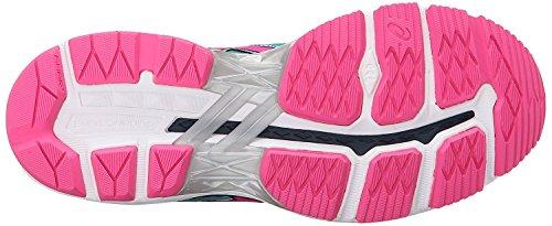 Asics Damen Gt-2000 4 Laufschuhe Turquoise / Hot Pink / Autumn Glor