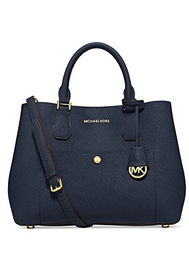 Michael Kors Greenwich Large Tote in Navy